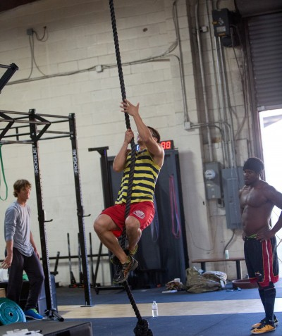 Crossfit in the Oakland
