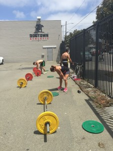 outdoor Crossfit