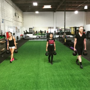 Dogtown Crossfit Athletes  Farmers Walk